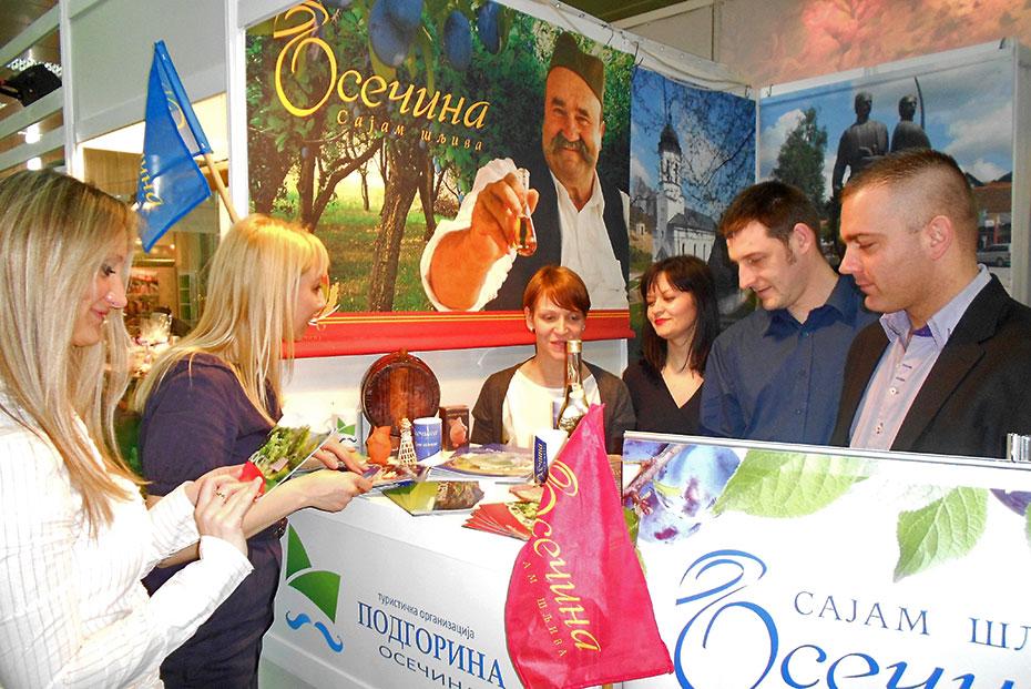 SAJAM TURIZMA U BEOGRADU: Interesovanje za Sajam šljiva i ponudu Osečine
