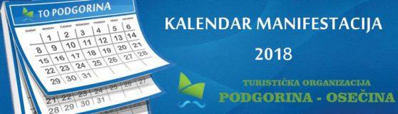 Kalendar manifestacija u Podgorini